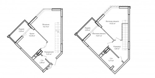 3-кімнатна 77.77м² номер - 76 зображення з ЖК Синергія Сіті