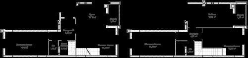 5-кімнатна 116.98м² номер - 65 зображення з ЖК Синергія Сіті