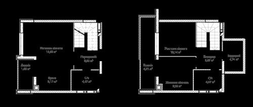 3-кімнатна 75.84м² номер - 67 зображення з ЖК Синергія Сіті