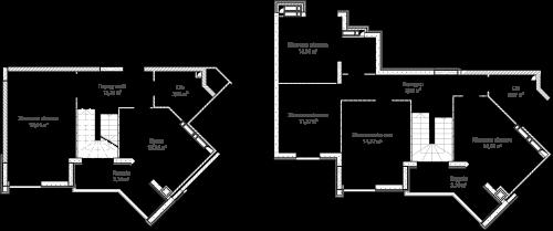 5-кімнатна 126.84м² номер - 71 зображення з ЖК Синергія Сіті