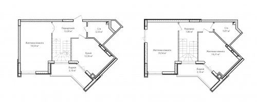 5-кімнатна 101.51м² номер - 71 зображення з ЖК Синергія Сіті