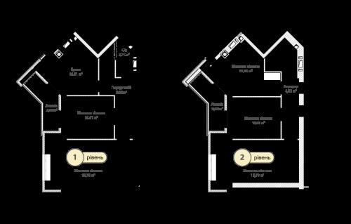 4-кімнатна 116.79м² номер - 72 зображення з ЖК Синергія Сіті