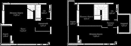 3-кімнатна 77.77м² номер - 67 зображення з ЖК Синергія Сіті