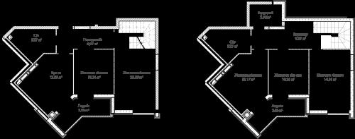 5-кімнатна 119.56м² номер - 72 зображення з ЖК Синергія Сіті