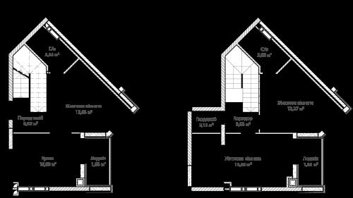 3-кімнатна 79.06м² номер - 64 зображення з ЖК Синергія Сіті