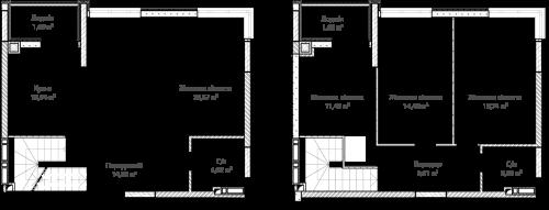 4-кімнатна 112.48м² номер - 66 зображення з ЖК Синергія Сіті