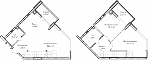 3-кімнатна 76.42м² номер - 68 зображення з ЖК Синергія Сіті